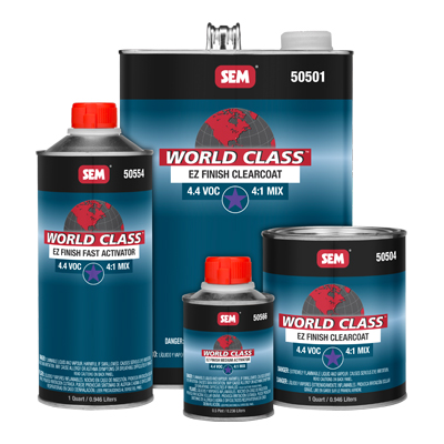 Urethane Clear Coat Sem 50501 Gallon Kit restoration car paint