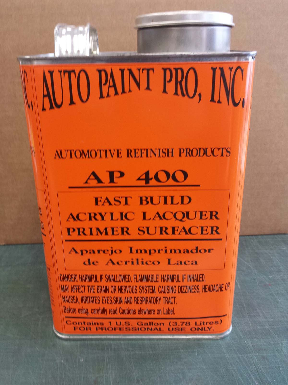 Fast Build Acrylic gray Lacquer Primer Auto paint car restoration
